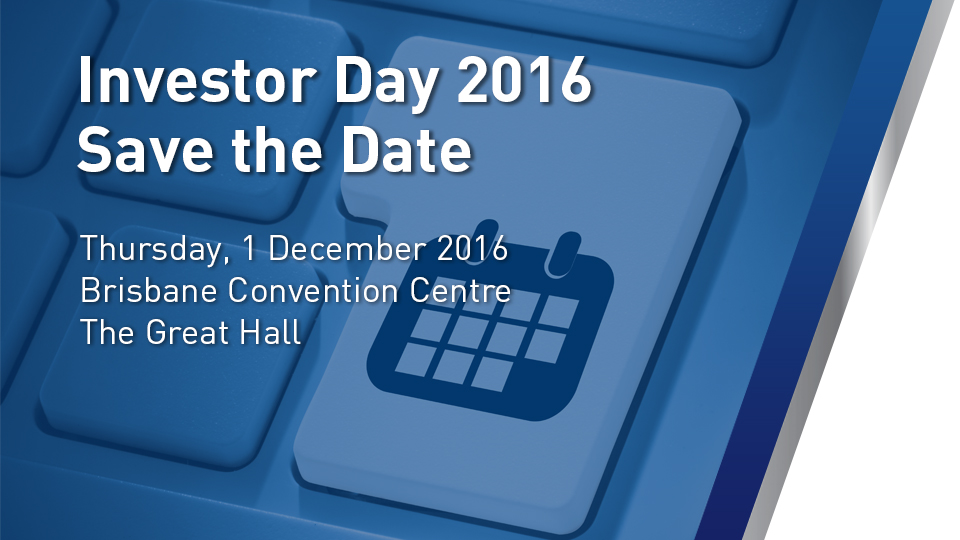 Investor day 2016