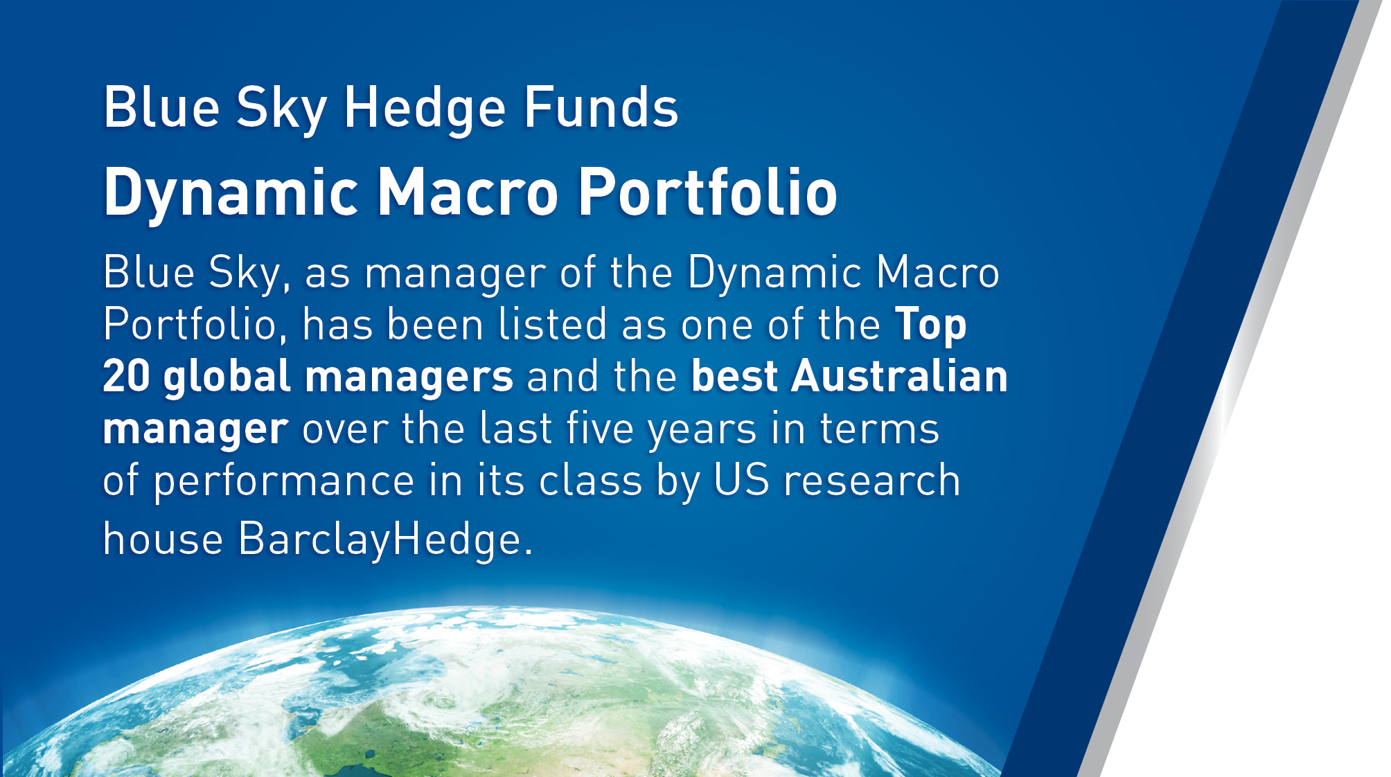 Blue Sky Hedge Funds Dynamic Macro Strategy